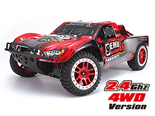 NO:1025 1/10 BRUSHLESS SHORT-COURSE TRUCK 9EMU