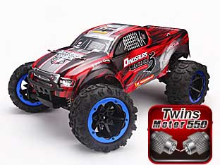 NO:8032 1/8 BRUSHED MONSTER TRUCK DINOSAURS MASTER