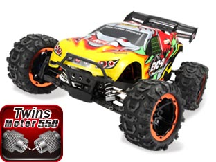 NO:8062 1/8 BRUSHED TRUGGY TRUCK EVO-R
