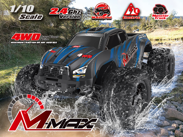 NO:1035 1/10 BRUSHLESS MONSTER TRUCK