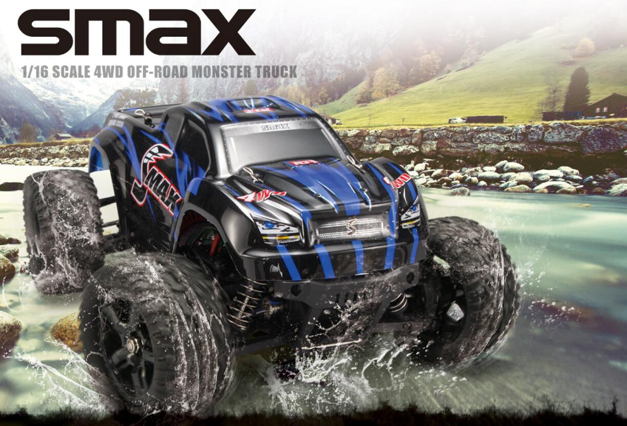 NO:1635 1/16 BRUSHLESS MONSTER TRUCK SMAX